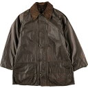 希少レア 70〜80年代 バブアー Barbour Gamefair Jacket ゲームフェアージャケット 1ワラント ワックスコットン オイルドジャケット 英…
