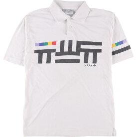 80~90年代 アディダス adidas 半袖 ポロシャツ メンズS ヴィンテージ /eaa150086 【中古】 【210424】
