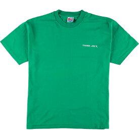 90年代 ヘインズ Hanes HEAVYWEIGHT 50/50 プリントTシャツ USA製 メンズXL ヴィンテージ /eaa160130 【中古】 【210514】