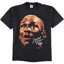 90年代 アンビル ANVIL MICHAEL JORDAN マイケルジョーダン NBA CHICAGO BULLS シカゴブルズ スポーツプリントTシャツ USA製 メンズXL …