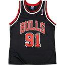 90年代 チャンピオン Champion NBA CHICAGO BULLS シカゴブルズ DENNIS RODMAN デニスロッドマン ゲームシャツ レプリカユニフォーム …