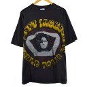 90年代 ヘインズ Hanes JANET JACKSON ジャネットジャクソン WORLD TOUR 94 バンドTシャツ USA製 メンズXL ヴィンテージ /eva000267 【…