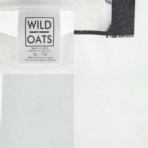 90年代WILDOATSNIRVANAニルヴァーナバンドTシャツUSA製メンズXLヴィンテージ/eva000275【中古】【210610】