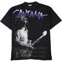 90年代 ヘインズ Hanes CARLOS SANTANA カルロスサンタナ MILAGRO TOUR バンドTシャツ USA製 メンズXL ヴィンテージ /eaa167437 【中古…