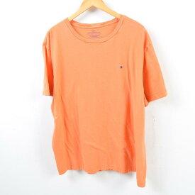トミーヒルフィガー TOMMY HILFIGER ワンポイントロゴTシャツ メンズXL /wbd0141 【中古】 【190324】【SS1909】