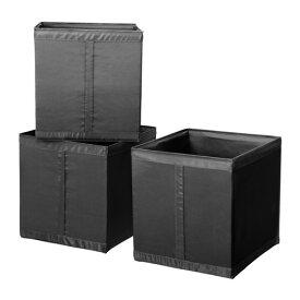 【★IKEA/イケア★】SKUBB ボックス ブラック/202.105.30