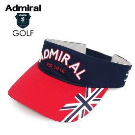 ADMIRAL GOLF (アドミラル ゴルフ) アドミラルバイザー [ユニセックス] ADMB1F12【TRC(90)/F】トリコロール ロゴ ユニオンジャック 帽子 ギフト プレゼント【あす楽】