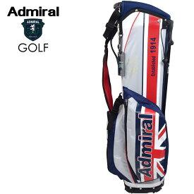 ADMIRAL GOLF (アドミラル ゴルフ) スタンドキャディバッグ 軽量モデル [ユニセックス] ADMG1AC7 【TRC(90) /9.0型】 トリコロール ユニオンジャック 小平智 畑岡奈紗