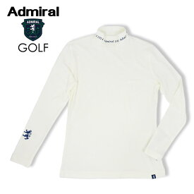 【30%OFF】ADMIRAL GOLF(アドミラル ゴルフ) スエードハイネックシャツ [レディース] ADLA088【WHT (00)/S・M・Lサイズ】ホワイト 保温性 ストレッチ【ネコポス対応】【あす楽】