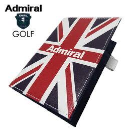 ADMIRAL GOLF(アドミラル ゴルフ) スコアカードケース [ユニセックス] ADMG0SK5【TRC(90)/F】 ユニオンジャック 小平智 プレゼント ギフト【店頭受取対応商品】【あす楽】