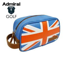 ADMIRAL GOLF (アドミラル ゴルフ) ユニオンジャックポーチ [ユニセックス] ADMZ9STE 【BLU(34)/F】ブルー UJポーチ【店頭受取対応商品】【あす楽】