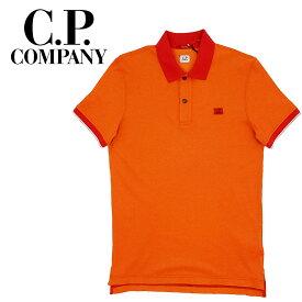 【ポイント5倍】【30%OFF】【ネコポス対応】C.P.COMPANY (シーピーカンパニー) Short Sleeve Polo [メンズ] 06CMPL039A 【ORG(547)/S・M・L・XL・XXLサイズ】 オレンジ ショートスリーブポロシャツ 半袖【店頭受取対応商品】【あす楽】