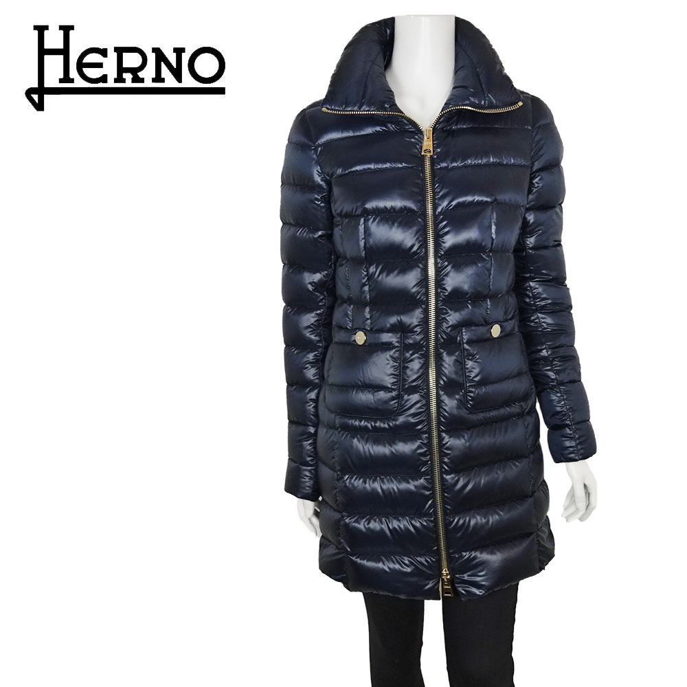 HERNO(ヘルノ) ダウンコート [レディース] PI0002DIC【 NVY(9200)/38.40.42】Maria ネイビー【店頭受取対応商品】【あす楽】