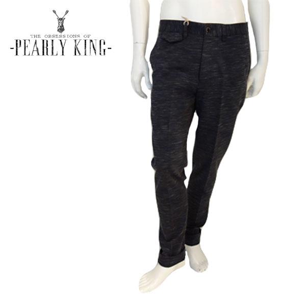【50%OFF】PEARLY KING (パーリーキング) スキニーパンツ [メンズ] ROOT 【BLK/28・29・30・31・32・33・34・36インチ】UK トラウザー ストロッチ ボトムス スリム【あす楽】【店頭受取対応商品】