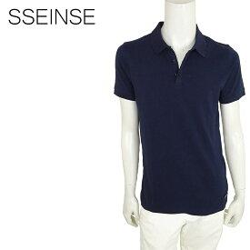 SSEINSE (センス) ショートスリーブポロシャツ [メンズ] ME1230SS 【NVY/S・M・L・XL・XXLサイズ】ネイビー 半袖 ストレッチ【店頭受取対応商品】【あす楽】