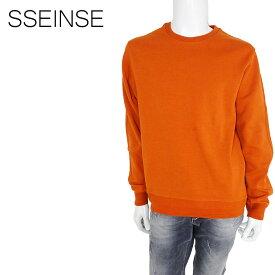 SSEINSE (センス) スウェットトレーナー [メンズ] MI1480SS 【ORG/S・M・L・XL・XXLサイズ】オレンジ 無地 長袖【店頭受取対応商品】【あす楽】
