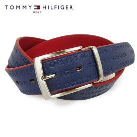 TOMMY HILFIGER GOLF(トミーヒルフィガーゴルフ) REVERSIBLE BELT [メンズ] THMB0FV2 【NVY(30)/F】リバーシブル ベルト ネイビー フリーサイズ プレゼント ギフト【あす楽】