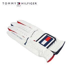 【ポイント5倍】【ネコポス対応】TOMMY HILFIGER GOLF (トミーヒルフィガー ゴルフ) グローブ [ユニセックス] THMG801 【WHT(00)/F】手袋 プレゼント ギフト【店頭受取対応商品】【あす楽】