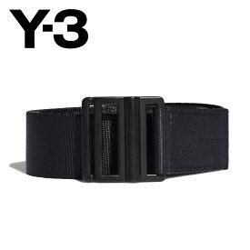 【30%OFF】Y-3 (ワイスリー) CLASSIC LOGO BELT [メンズ] GK2074 【BLK/S・M・L】 クラシック ロゴ ベルト ヨージ ヤマモト adidas アディダス ギフト プレゼント【あす楽】