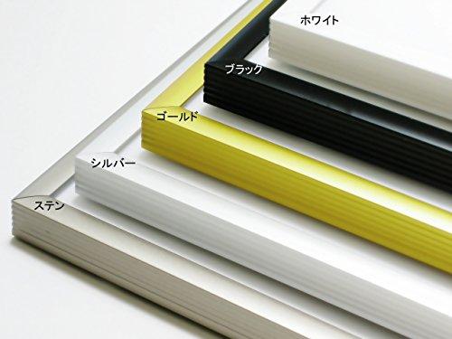 【変形菊全:600×900mm】アルミ製額縁<2枚セット>ポスターフレーム/パネル
