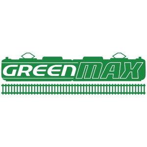 グリーンマックス Nゲージ 動力台車用車輪 コアレス動力対応 黒 8641 鉄道模型用品