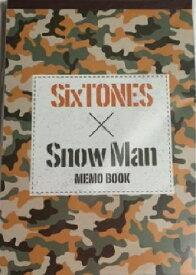 【新品】少年たち・【メモ帳】・・Snowman SixTones ・ジャニーズJr・・2016最新ジャニーズJr舞台グッズ・