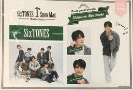 【新品】SixTONES (ストーンズ) 2021・【ステッカーセット】・森本慎太郎・一周年記念 アイランドストア ・最新グッズ販売・・