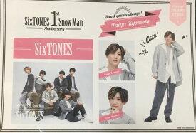 【新品】SixTONES (ストーンズ) 2021・【ステッカーセット】・京本大我・一周年記念 アイランドストア ・最新グッズ販売・・