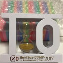 【新品】 Hey! Say! JUMP・2017-2018・【 h.ourglass 砂時計】・・ 10周年ツアー「Hey! Say! JUMP I/Oth Anniversary Dome Tour