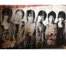 【中古】KAT-TUN (カトゥーン) 【ポスター】 集合  2006 Dreamboys (ドリボ) 舞台会場販売グッズ/【サイズ】 61.5×91.5cm (kat-tun舞台グッズ)