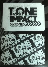 【新品】SixTONES (ストーンズ) 2020・【ツアーステッカー】・TrackONE -IMPACT・最新コンサート会場販売・・