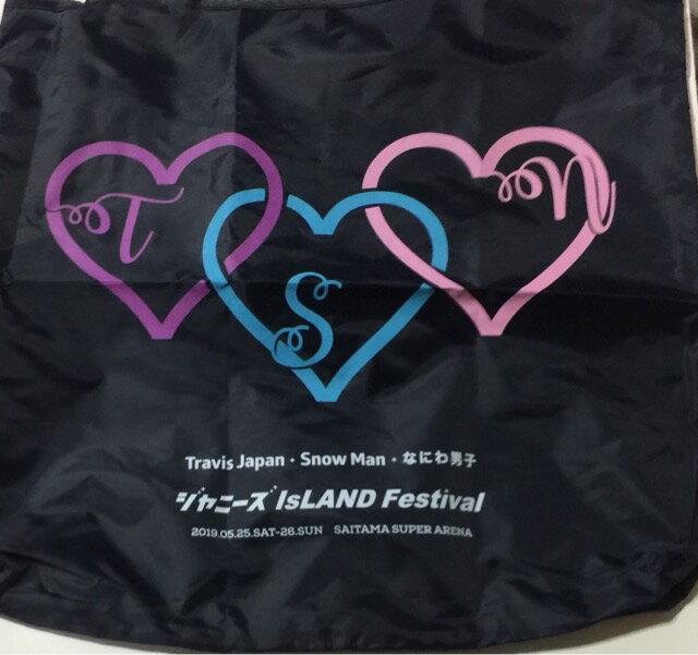 【新品】 2019 ジャニーズ IsLAND Festival ・【ショッピングバッグ】・なにわ男子 Snowman