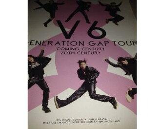 V6音乐会小册子GENERATION GAP TOUR