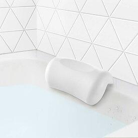 お風呂 まくら バスピロー 吸盤 滑り止め付 バスタブ グッズ 浴槽枕 ふた 枕 安眠 人気 肩こり 熟睡 浴用品 横向き枕