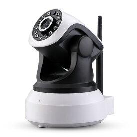 ネットワークカメラ 200万画素 ワイヤレス IP監視カメラ WiFi 防犯カメラ ベビーモニター 1080P 日本語APP取扱説明書