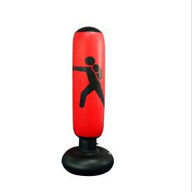 インフレータブルボクシングバッグ パンチングバッグ フィットネスボクシングバッグ トレーニング フィットネス 160センチ
