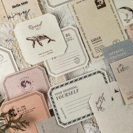 (NOTE PAPER)海外便箋紙5柄×3枚 15枚セット◇全4種類◇素材紙 コラージュ ジャンクジャーナル ヴィンテージ 素材 素材紙 素材ペーパー レトロ 背景紙 デザインペーパー 紙