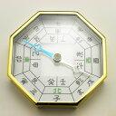 方位磁石・八角(金色)
