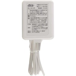 【au純正】 au 充電器 ACアダプタ 日本国内 海外兼用 microUSB (AC05) 【0501PWA】