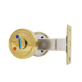 ジャパンコマース 真鍮メッキ亜鉛合金製プライバシーロックセット(サムターン錠)