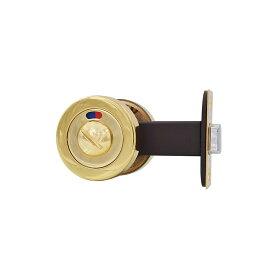 ジャパンコマース 24金メッキ真鍮製プライバシーロックセット サムターン錠