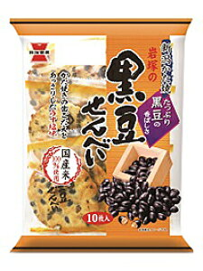 ★まとめ買い★ 岩塚製菓 黒豆せんべい ×12個【イージャパンモール】