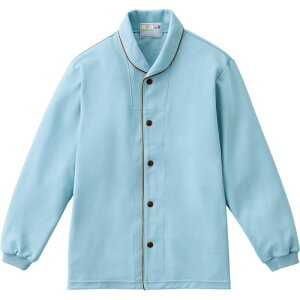 トンボ 前開きシャツ CR836 ブルー Mサイズ 1枚