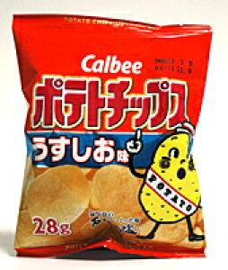 ★まとめ買い★ カルビー(株) カルビー ポテトチップス うすしお味 28g ×24個【イージャパンモール】