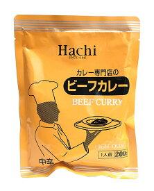 【キャッシュレス5%還元】ハチ食品 ビーフカレー中辛 200g【イージャパンモール】