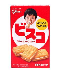 ★まとめ買い★ グリコ ビスコ 5枚×3パック ×10個【イージャパンモール】