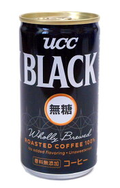 【キャッシュレス5%還元】★まとめ買い★ UCC BLACK無糖 185g ×30個【イージャパンモール】