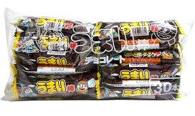 【キャッシュレス5%還元】うまい棒 チョコレート味 30本入【イージャパンモール】