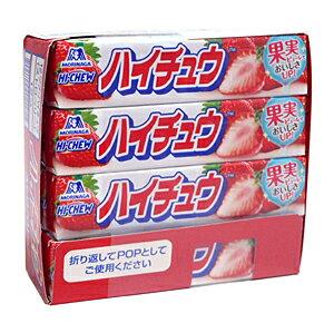 ★まとめ買い★ 森永製菓 ハイチュウ ストロベリー 12粒 ×12個【イージャパンモール】