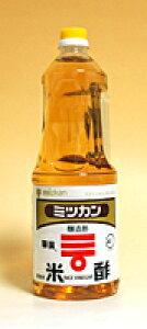 ミツカン 米酢(華撰) 1.8L PET(業務用) ×6個【イージャパンモール】